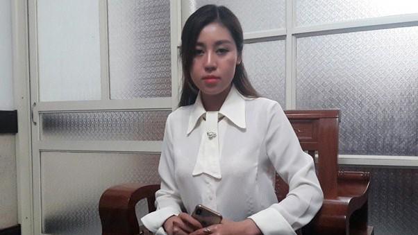 Cô gái bị 'tố' là bồ nhí phó bí thư Thanh Hóa lên tiếng - ảnh 1