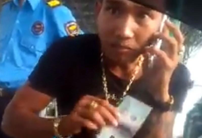 Tìm ra kẻ xúc phạm nữ hành khách ở BOT Mỹ Lộc - ảnh 1