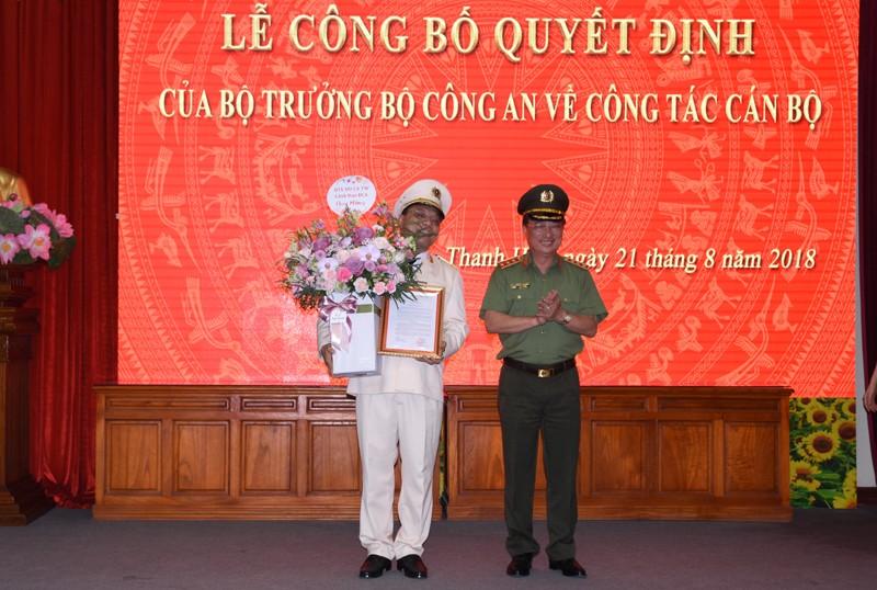 Thiếu tướng Nguyễn Hải Trung làm giám đốc Công an Thanh Hóa - ảnh 1
