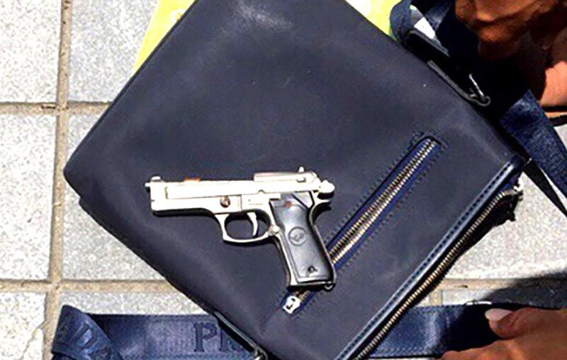 Bộ Công an chỉ đạo vụ súng phóng bùi nhùi chặn quái xế - ảnh 3