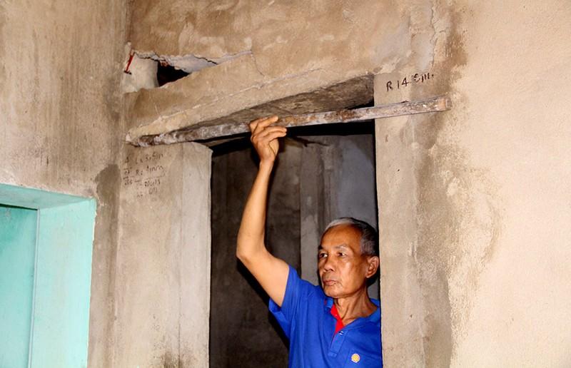 Cả trăm nhà dân nứt toác do tác động từ việc xây kênh 4000 tỉ  - ảnh 9