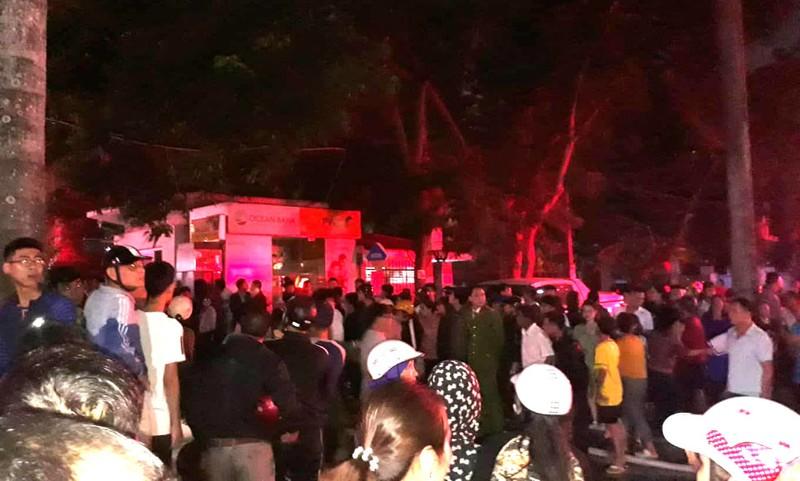 Cháy tòa nhà dầu khí Thanh Hóa, 1 người chết, 8 bị thương  - ảnh 8
