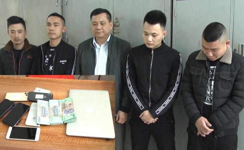 Triệt phá đường dây đánh bạc tiền tỉ qua mạng ở Thanh Hóa - ảnh 1