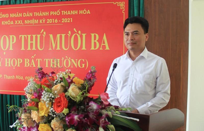 Thành phố Thanh Hóa có chủ tịch mới - ảnh 1