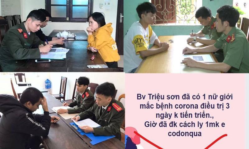 Xử lý 123 người ở Thanh Hóa phao tin về dịch COVID-19 - ảnh 1