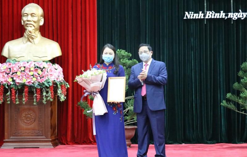 Ninh Bình có nữ bí thư Tỉnh ủy mới - ảnh 1