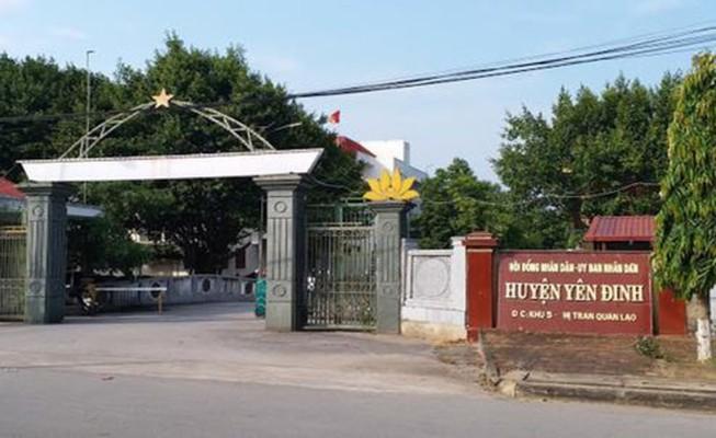 Nợ hơn 50 tỉ, huyện Yên Định tiếp tục xin dựng tượng đài 20 tỉ - ảnh 1