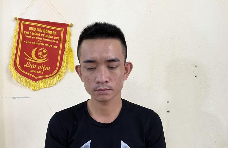 Bắt kẻ truy nã tội giết người sống trong khu trọ ở Hà Nội - ảnh 1