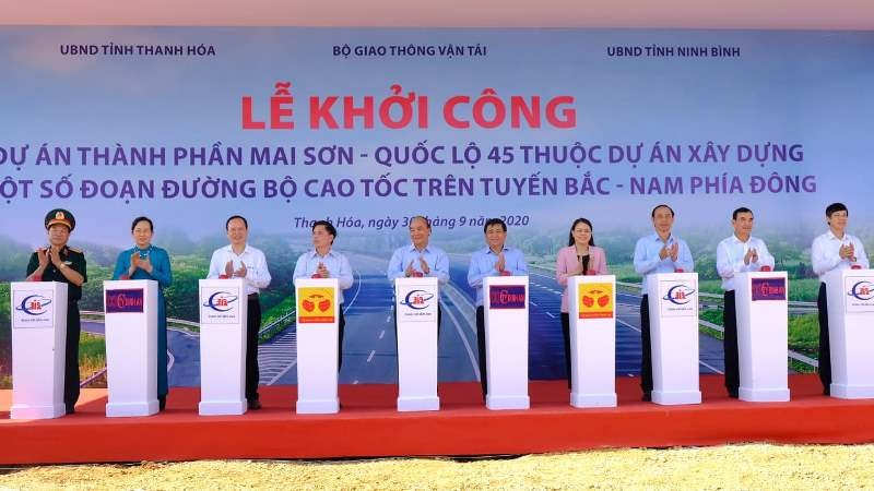 Thủ tướng dự lễ khởi công dự án thuộc cao tốc Bắc-Nam - ảnh 2