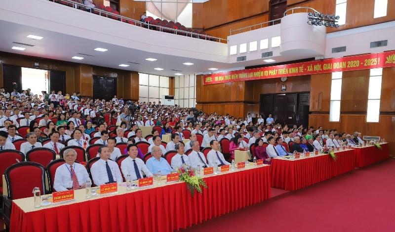 Phó Chủ tịch nước dự đại hội thi đua yêu nước tỉnh Thanh Hóa - ảnh 1