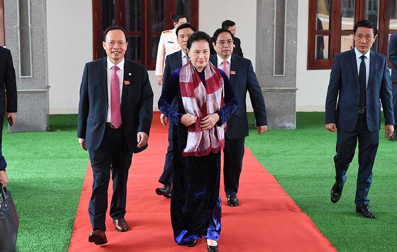 Khai mạc Đại hội đại biểu Đảng bộ tỉnh Thanh Hóa lần thứ XIX - ảnh 1