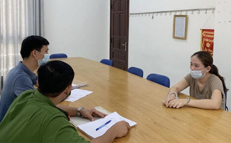 1 phụ nữ ở Thanh Hóa bị bắt vì lừa bán đất ảo - ảnh 1