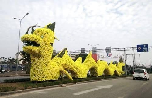 Thực hư con rồng 60 tỉ trang trí đường phố Hải Phòng - ảnh 1