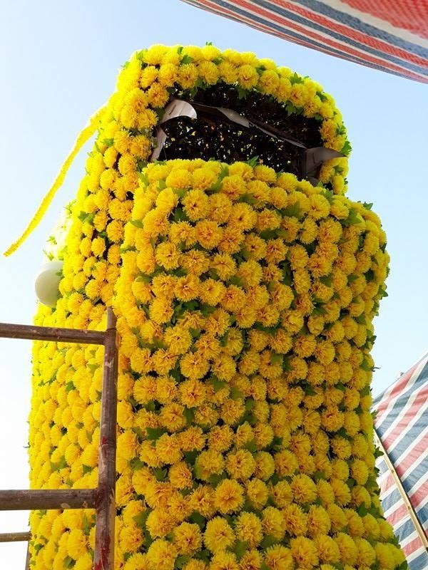 Gỡ hoa hình con rồng trên đường phố Hải Phòng - ảnh 4