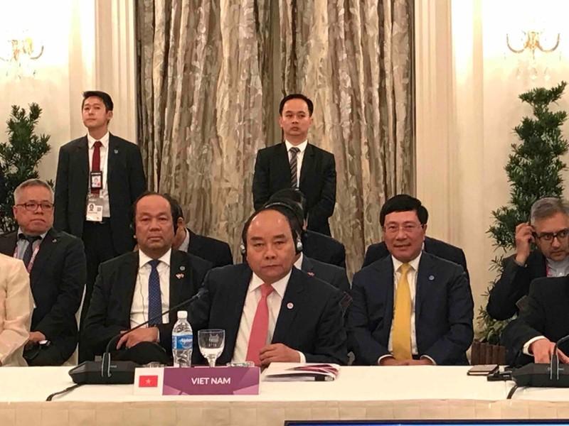Thủ tướng dự phiên họp toàn thể Hội nghị cấp cao ASEAN - ảnh 1
