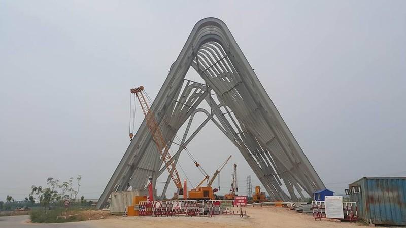 Cổng chào gần 200 tỉ thuộc cụm dự án 470 tỉ - ảnh 1