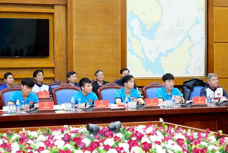 Thủ tướng gặp mặt đội U23 Việt Nam - ảnh 4