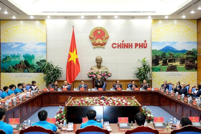 Thủ tướng gặp mặt đội U23 Việt Nam - ảnh 5