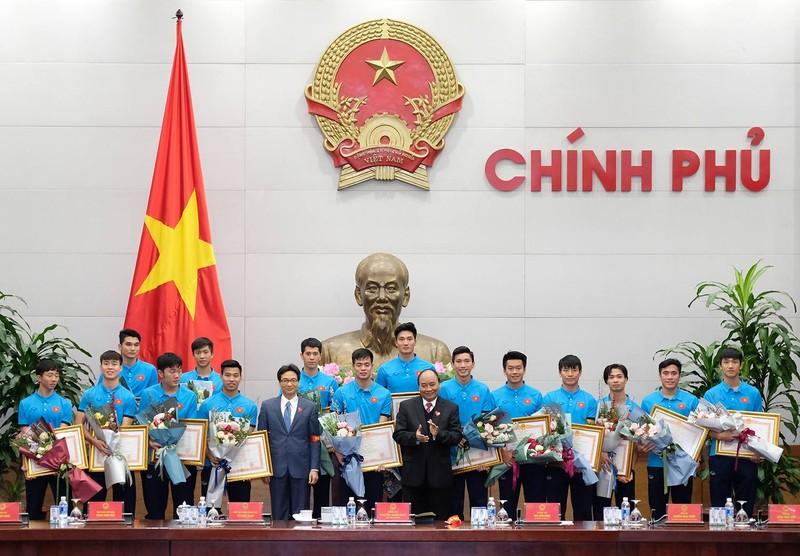 Thủ tướng gặp mặt đội U23 Việt Nam - ảnh 6