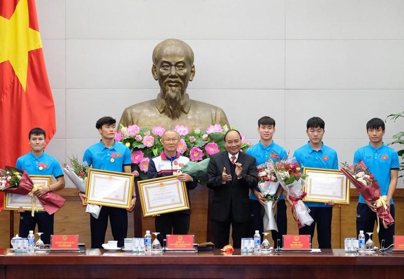 Thủ tướng gặp mặt đội U23 Việt Nam - ảnh 7