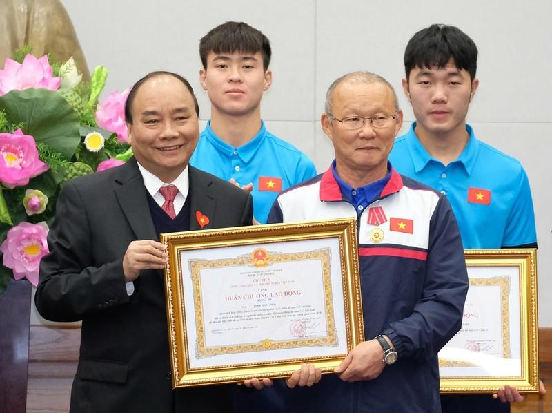 Thủ tướng gặp mặt đội U23 Việt Nam - ảnh 8