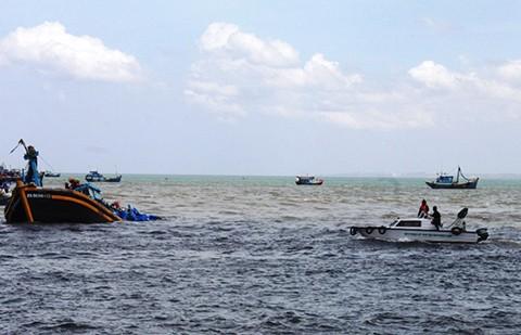 Tàu 3000 tấn chìm trên biển, 6 thuyền viên mất tích - ảnh 1