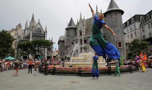Tuần lễ văn hóa 'Một thoáng nước Pháp' tại Bà Nà Hills - ảnh 1