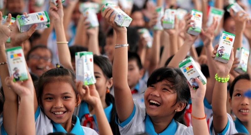 Quỹ sữa Vươn cao Việt Nam đến Cần Thơ - ảnh 2