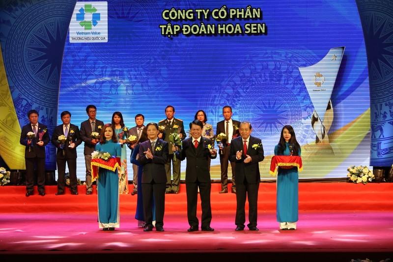 Tôn Hoa Sen lần thứ 3 đạt Thương hiệu Quốc gia - ảnh 1