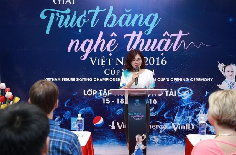 Giải trượt băng nghệ thuật Việt Nam - Cúp Vincom - ảnh 1
