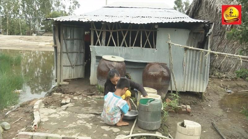 Chuyện đời bất hạnh của gia đình nghèo ở Kiên Giang - ảnh 1