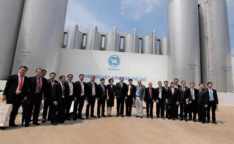 Vinamilk vinh dự đón tiếp Phó Thủ tướng Lào - ảnh 2