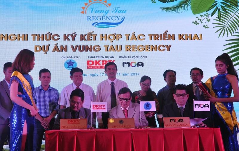 Công bố dự án du lịch nghỉ dưỡng 5 sao Vũng Tàu Regency - ảnh 1