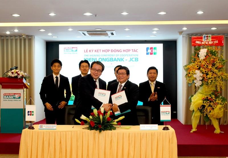 Kiên Long, JCB: Hợp tác phát triển dịch vụ thẻ quốc tế - ảnh 1