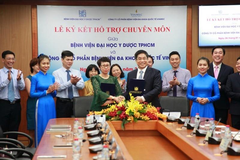 Bệnh viện ĐH Y Dược TP.HCM hợp tác với Vinmec Nha Trang - ảnh 1