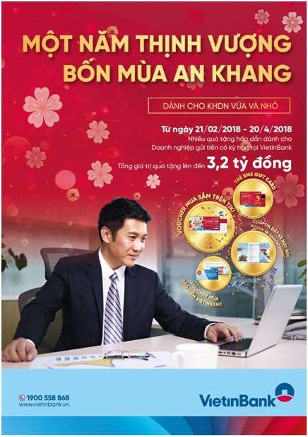 'Một năm thịnh vượng, bốn mùa an khang' cùng VietinBank - ảnh 1