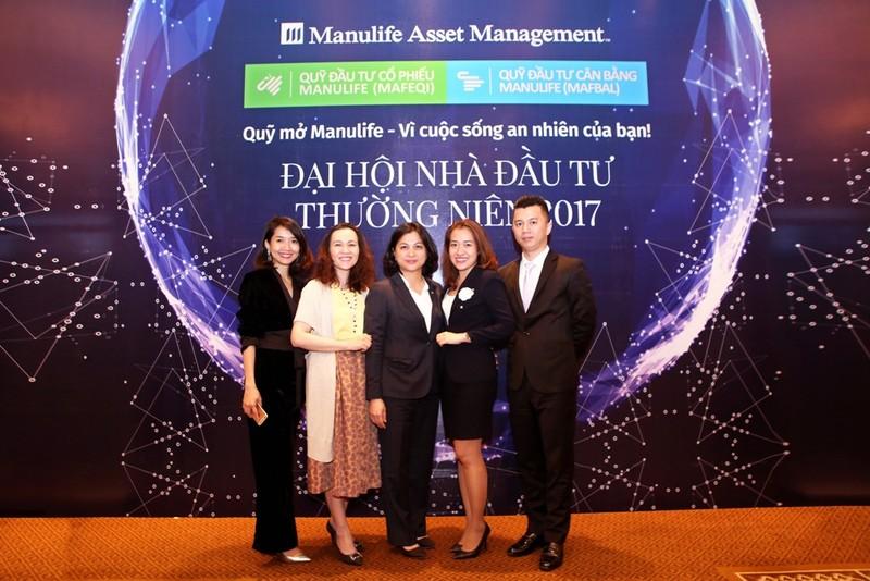 Quỹ mở Manulife 2017: Lợi nhuận đầu tư đạt 41,5% - ảnh 1