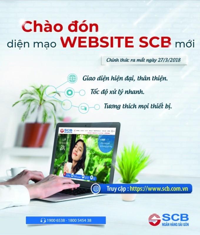 SCB ra mắt website mới thân thiện với người dùng - ảnh 1