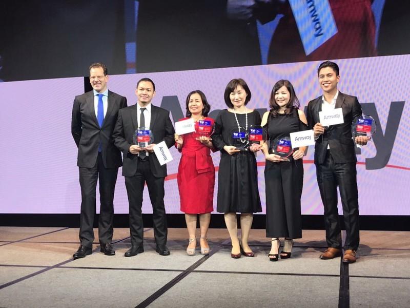 Amway Việt Nam nhận 2 giải thưởng lớn về nhân sự - ảnh 1