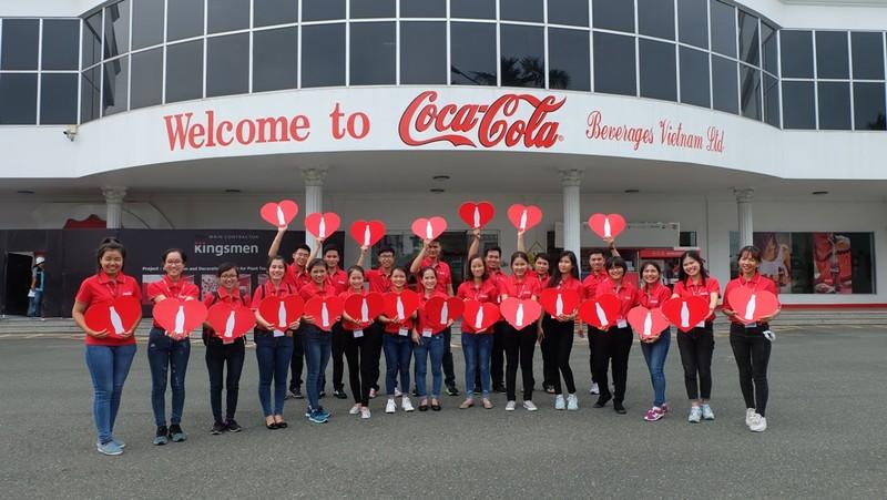 Coca-Cola đứng đầu bảng 'Nhà tuyển dụng yêu thích 2017' - ảnh 1