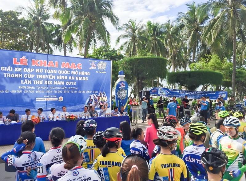 Khai mạc giải Xe đạp nữ toàn quốc mở rộng lần 19 - ảnh 1