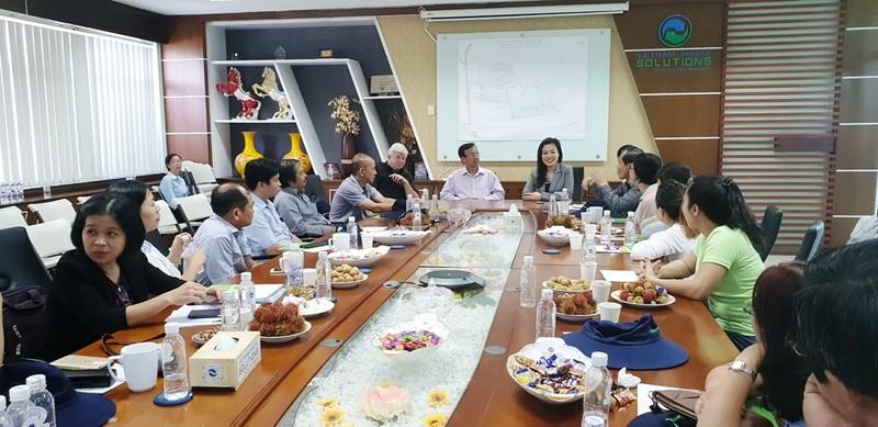 32 bác sĩ chuyên khoa quản lý y tế thăm Đa Phước - ảnh 2