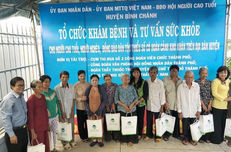 VWS: Hướng về biển đảo và người nghèo Bình Chánh - ảnh 4