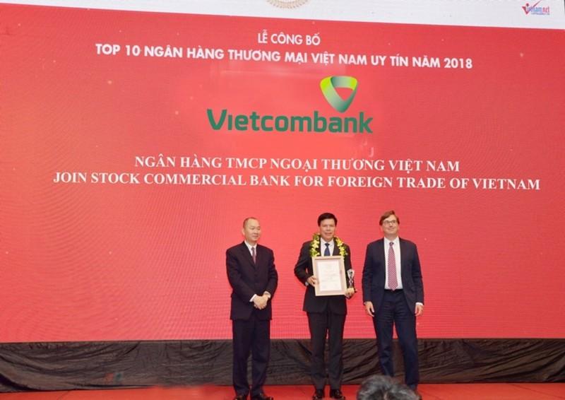 Vietcombank tiếp tục được bình chọn là ngân hàng uy tín nhất - ảnh 1