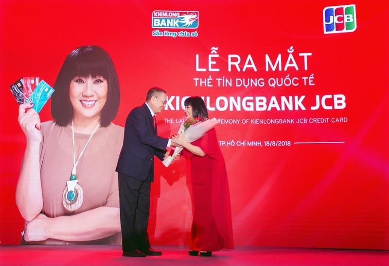 Kienlongbank ra mắt thẻ tín dụng quốc tế Kienlongbank JCB - ảnh 1