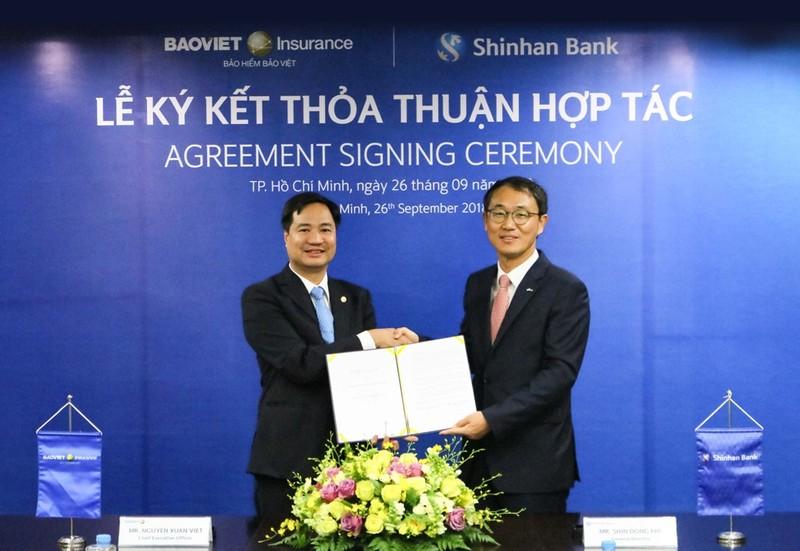 Bảo hiểm Bảo Việt hợp tác với Ngân hàng Shinhan Việt Nam - ảnh 1