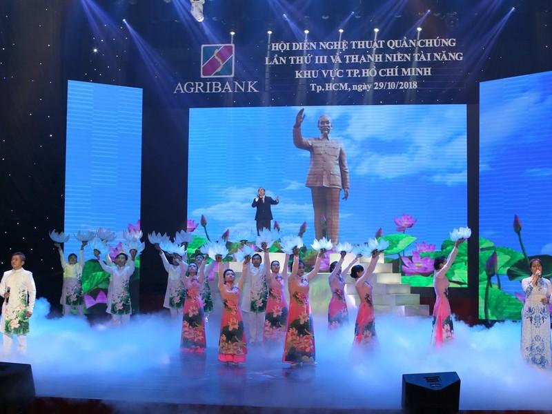 Agribank khai mạc Hội diễn nghệ thuật quần chúng lần III - ảnh 1
