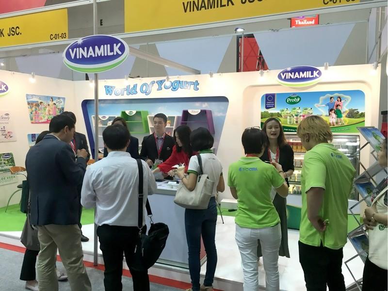 Sản phẩm sữa Vinamilk ra mắt ấn tượng tại hội chợ quốc tế - ảnh 2