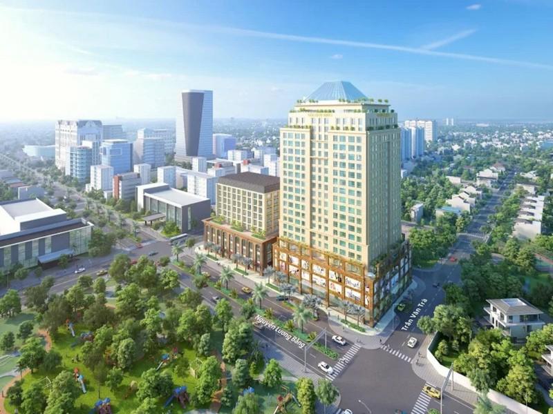 Thị trường Phú Mỹ Hưng dậy sóng với officetel 3 mặt tiền đường - ảnh 1