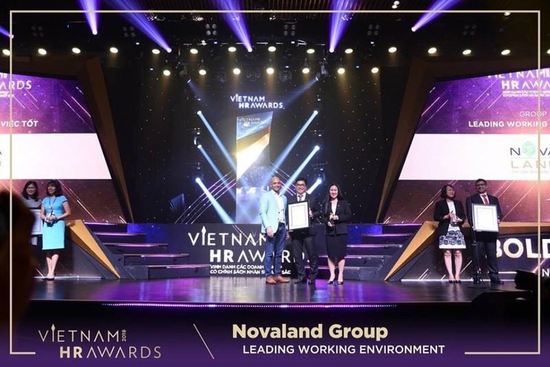 Novaland được vinh danh tại lễ trao giải Vietnam HR Award 2018 - ảnh 1